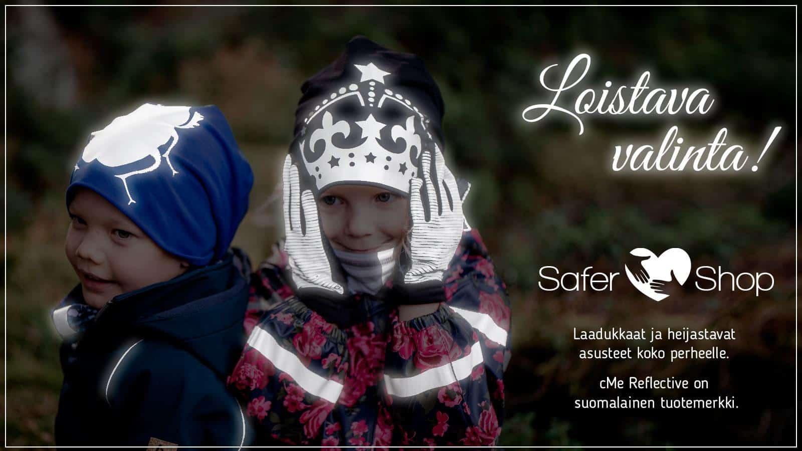 Safer.Shop: Heijastavat pipot lapsille ja aikuisille